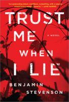 Imagen de portada para Trust me when I lie : a novel