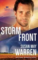 Cover image for Storm front. bk. 5 Montana Rescue series