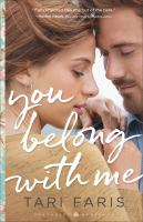 Cover image for You belong with me Restoring Heritage Series, Book 1.