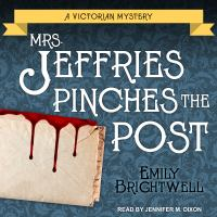 Cover image for Mrs. Jeffries pinches the post. bk. 16 [sound recording CD] : Mrs. Jeffries series