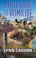 Cover image for A field guide to homicide