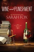 Cover image for Wine and punishment. bk. 1 Literary Pub mystery series