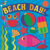 Cover image for Beach day! [board book]