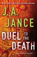 Cover image for Duel to the death. bk. 13 : Ali Reynolds series