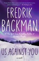 Cover image for Us against you A Novel.