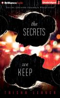 Cover image for The secrets we keep [sound recording CD]