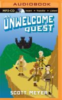 Cover image for An unwelcome quest. bk. 3 [sound recording MP3] : Magic 2.0 series