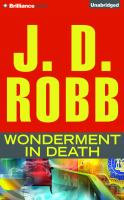 Cover image for Wonderment in death. bk. 41.5 In death series