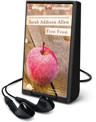 Cover image for First frost [Playaway] : a novel