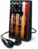 Cover image for The third target. bk. 1 [Playaway] : a novel : J. B. Collins series