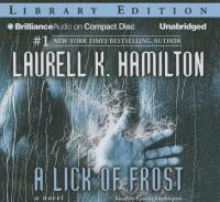 Cover image for A lick of frost. bk. 6 [sound recording CD] : Meredith Gentry series