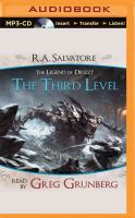 Cover image for The third level [sound recording MP3] : Dungeons & Dragons. Forgotten realms series