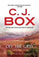Imagen de portada para Off the grid. bk. 16 [sound recording CD] : Joe Pickett series
