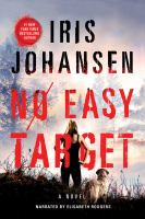 Cover image for No easy target [sound recording CD] : a novel