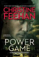 Cover image for Power game. bk. 13 [sound recording CD] : GhostWalker series