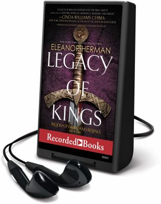 Imagen de portada para Legacy of kings. bk. 1 [Playaway] : Blood of gods and royals series