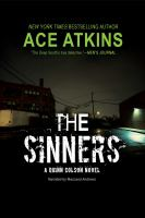 Cover image for The sinners. bk. 8 [sound recording CD] : Quinn Colson series