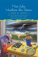 Cover image for Miss Julia weathers the storm