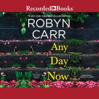 Cover image for Any day now. bk. 2 [sound recording CD] : Sullivan's Crossing series