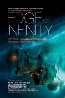 Cover image for Edge of infinity. bk. 2 [sound recording CD] : Infinity project series