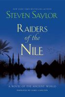 Cover image for Raiders of the nile a novel of the ancient world