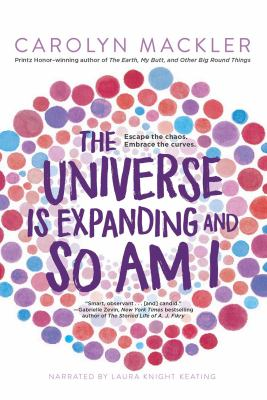 Cover image for The universe is expanding and so am I. bk. 2 [sound recording CD] : Virginia Shreves series