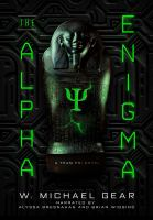 Cover image for The Alpha enigma. bk. 1 [sound recording CD] : Team Psi series