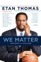 Cover image for We matter athletes and activism