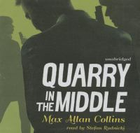Cover image for Quarry in the middle. bk. 9 [sound recording CD] : Quarry series