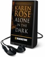 Cover image for Alone in the dark. bk. 2 [Playaway] : Cincinnati series
