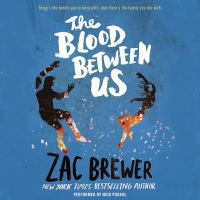 Cover image for The blood between us [sound recording CD]