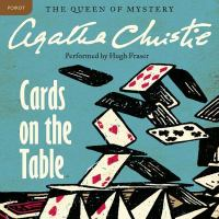 Cover image for Cards on the table. bk. 15 [sound recording CD] : Hercule Poirot series