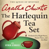 Cover image for The harlequin tea set and other stories [sound recording CD]