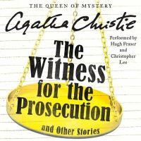 Cover image for The witness for the prosecution, and other stories [sound recording CD]