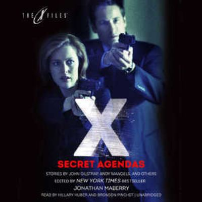 Cover image for Secret agendas [sound recording CD] : X-files anthologies
