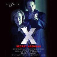 Cover image for Secret agendas [sound recording CD] : X-files anthologies