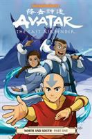 Cover image for Avatar, the last airbender [graphic novel] : north and south