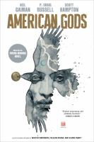 Cover image for American Gods.  Vol. 1 [graphic novel] : Shadows