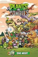 Cover image for Plants vs. zombies. bk. 12 [graphic novel] : Dino-might