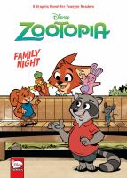 Cover image for Family night [graphic novel] : Disney Zootopia series