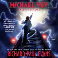 Cover image for Fall of hades Michael Vey Series, Book 6.
