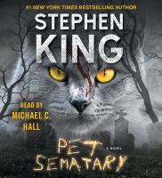 Cover image for Pet sematary [sound recording CD] : a novel
