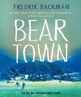 Cover image for Beartown [sound recording CD]