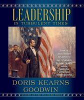 Cover image for Leadership in turbulent times [sound recording CD]