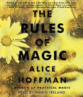 Imagen de portada para The rules of magic [sound recording CD] : prequel to practical magic