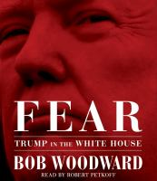 Imagen de portada para Fear [sound recording CD] : Trump in the White House