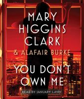 Cover image for You don't own me. bk. 6 [sound recording CD] : Under suspicion series