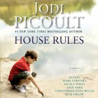 Cover image for House rules A Novel.