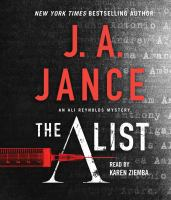 Cover image for The A list. bk. 14 [sound recording CD] : Ali Reynolds series