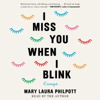 Cover image for I miss you when i blink Essays.